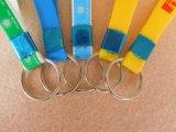 Kundenspezifische Sublimation-Silikon-Gummi-Abzuglinie für Schlüssel