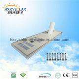 Luz solar Integrated do sensor da rua do diodo emissor de luz de IP68 5W-120W com o de controle remoto para o jardim (HXXY-ISSL-5-120)