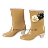 PVC Ladies High Heel Boots, Comfort Shoes per Lady (AB-F2)