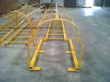 GRP/FRP/Fiberglass Ladders, Gekooide FRP/Leuning met Chemische Weerstand