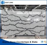 La meilleure pierre de quartz de vente pour la décoration à la maison extérieure solide avec la qualité (couleurs de marbre)