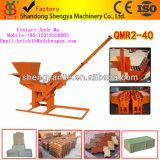 最もよい価格の小さい煉瓦機械Qmr2-40粘土の煉瓦作成機械煉瓦機械