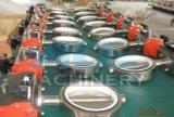 Клапан-бабочка нержавеющей стали санитарным пневматическим управляемая воздухом (ACE-DF-7V)