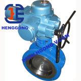 API/DIN 연성이 있는 철 압축 공기를 넣은 산업 플랜지 나비 벨브