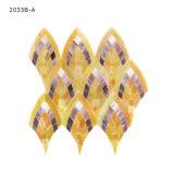 Italiana patrón del diseño del arte reciclado del mosaico del vitral Hojas Azulejos