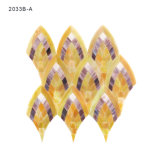 Hojas recicladas modelo italiano del azulejo de mosaico del vidrio manchado del arte del diseño