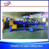CNC van de Pijp van het Roestvrij staal van de Afzet van de fabriek Machine van de Boring van het Gat van het Plasma de Scherpe