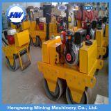 Compressor Vibratory do rolo de estrada do cilindro do dobro do motor Diesel mini