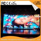 Pantalla de visualización a todo color de interior de P6 LED TV con buena calidad