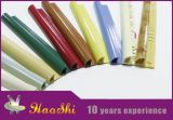 Harz 100% kundenspezifische Farben-runde Rand-Plastikmarmorfliese-dekorative Streifen (HSPC-07)