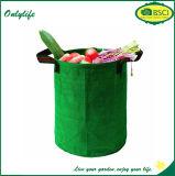 Onlylifeの容器を植える多彩な庭ファブリックおよび鍋は袋を育てる