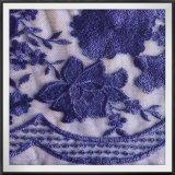 ナイロン網の刺繍のレースの敏感な刺繍のレースのテュルの刺繍のレース
