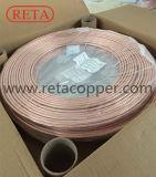 R410A verwendete kupfernen Pfannkuchen-Ring