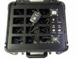 Stazione di aggancio portata polizia portatile dell'accumulazione di informazioni della macchina fotografica del corpo con 12 porte