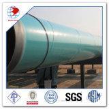 API 5L Gr. B X42/52/60/65/70の外部3lpe 3lpp Fbeコーティングか上塗を施してある炭素鋼の管