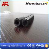 SAE 100r1at 유압 호스 또는 기름 저항하는 1개의 철사 끈목 고압 호스