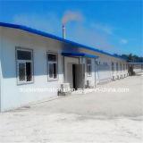 La costruzione prefabbricata dell'ufficio/ha prefabbricato le costruzioni nel totale 1800 metri quadri