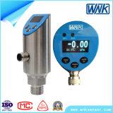 Modbusのプロトコルの60MPaまでの衛生オン/オフ4-20mA電子圧力スイッチ