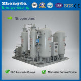 Máquina del generador del nitrógeno del Psa de la pureza elevada para el embalaje