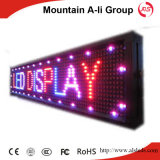 Diodo emissor de luz Moving Sign de P10 Outdoor DIP para Advertizing/Guide