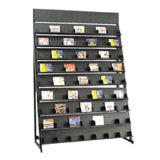 Étagère CD colorée personnalisable d'armoire d'affichage (HY-22)