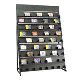 Prateleira de Rack de Display de CD colorida personalizável (HY-22)