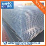PVC transparent film rigide, Calendrier tranparent PVC Film Prix, Non Crease Super Clear Film PVC pour boîtes pliantes