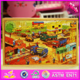 2016 Atacado Baby Wooden 3D Jigsaw Puzzle Toys W14c246