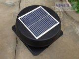 Panel solar 15W Inclinación cubierta redonda 14 pulgadas con energía solar Techo Ventilador de ventilación (SN2013010)