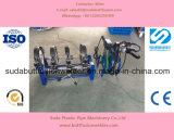 Sud200m-4 HDPE PE Machine van het Lassen van de Fusie van het Uiteinde van de Pijp de Hand