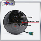 최고 밝은 45W LED는 DRL를 가진 지프 7inch LED 헤드라이트를 위한 1개의 LED 헤드라이트 및 지프를 위한 달무리 나른다