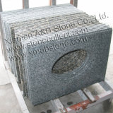 Mesas de bancada e vaidade feitas de granitos e mármores
