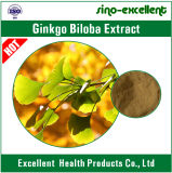 100% natürlicher Ginkgo Biloba Blatt-Auszug 24/6