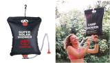 saco solar de acampamento do chuveiro 20L para o uso ao ar livre