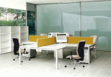 Weißer Computer Task&Desk Büro-Stuhl
