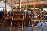 Mobilia di bambù dell'istantaneo della presidenza di piegatura