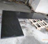 Pierre/revêtement/plancher/pavage/tuiles/brames noirs de granit de perle de Polihed G684/revêtement de granit/mur