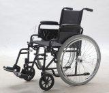 自動推進の鋼鉄車椅子、Foldableおよび快適(YJ-005L)
