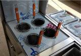 حارّ عمليّة بيع شطيرة لحميّة صنع وفقا لطلب الزّبون متحرّك طعام عربة
