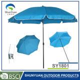 Het wind Goedkope Strand paraplu-Sy1801 van de Bevordering van de Reclame van de Bescherming van de Zon van de Prijs Sterke)