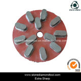 200mm Resin Bond Radial Arm Diamond Polishing Disc