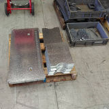 500W 1000Wの鋼鉄金属レーザーの打抜き機