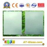 2 ~ 19mm grabado ácido del vidrio esmerilado de cristal