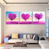 3 piezas de venta caliente moderna pared de la pintura de pintura de árboles decorativos de pared de arte cuadro pintado en lienzo Inicio impresiones Mc-184
