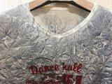 Maglietta adatta sbiadetta bianca del muscolo della stampa floreale di Geo in vestiti dell'uomo per l'usura Fw-8656 di sport
