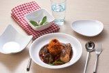 Serie blanca de la melamina/vajilla/servicio de mesa chinos del estilo del alimento
