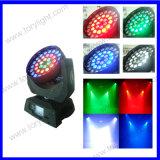 단계 장비 36*10W LED 이동하는 맨 위 광속 빛