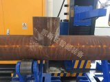 Découpage de commande numérique par ordinateur de plasma de gaz de précision et machine de profilage pour les pipes en acier