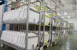 Квадратные белые изделия Duroplast санитарные с местом туалета Slow Down
