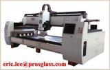 Automatische CNC-Glasgravierfräsmaschine 2512 Glas-Stich, der Maschine schnitzt